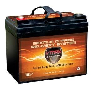 Vmax marine battery