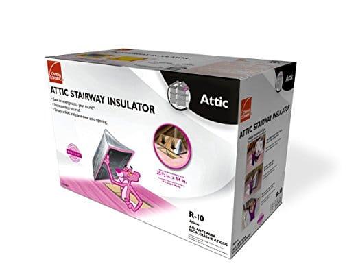 best attic stair insulation