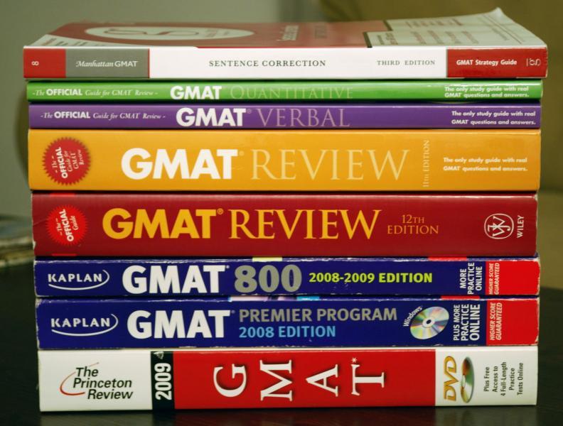 The Best GMAT Prep Books for 2018 - testprepselect.com
