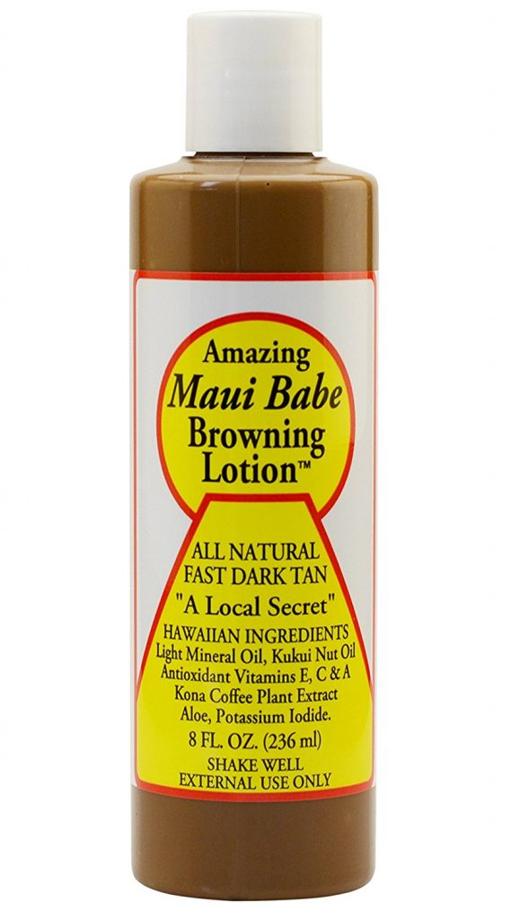 Maui Babe Browning Lotion In Tanning Bed