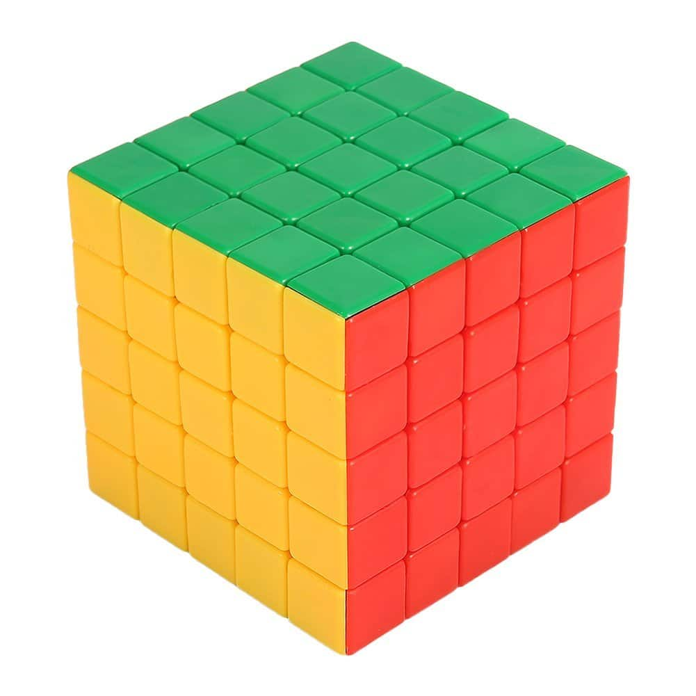 best stickerless 5x5 speed cube