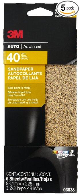 best sandpaper for removing paint