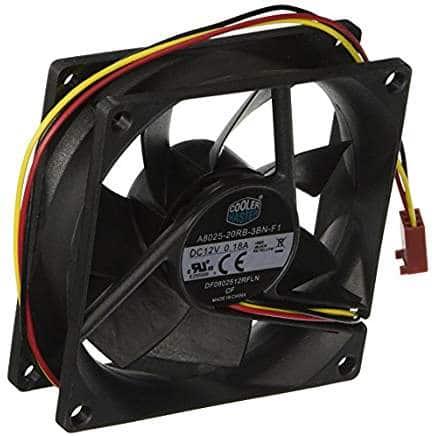 best 80mm case fan slient