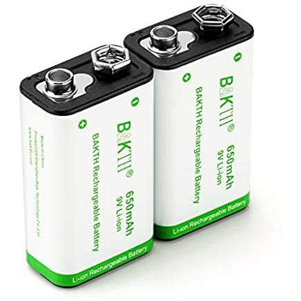 best 9 Volt rechargeable battery