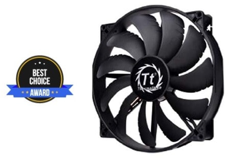 best 200mm case fan silent