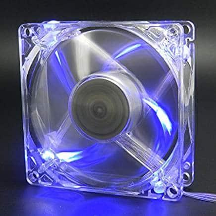 best 80mm LED case fan stylish