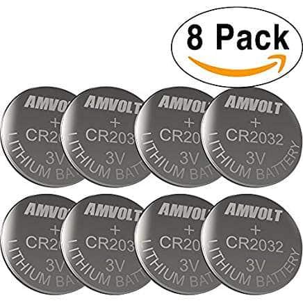 best cr2032 3V lithium battery