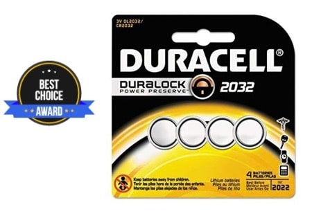 best cr2032 battery
