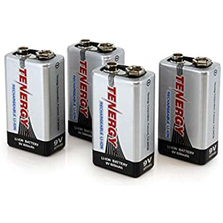 best 9V rechargeable battery