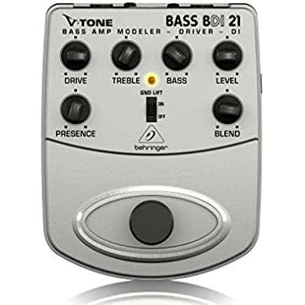best bass preamp peda