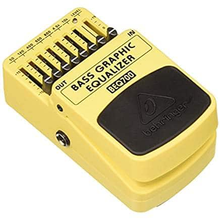 best bass equalizer pedal