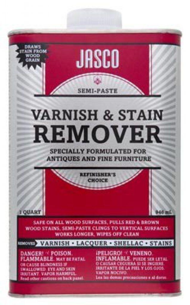 best varnish remover