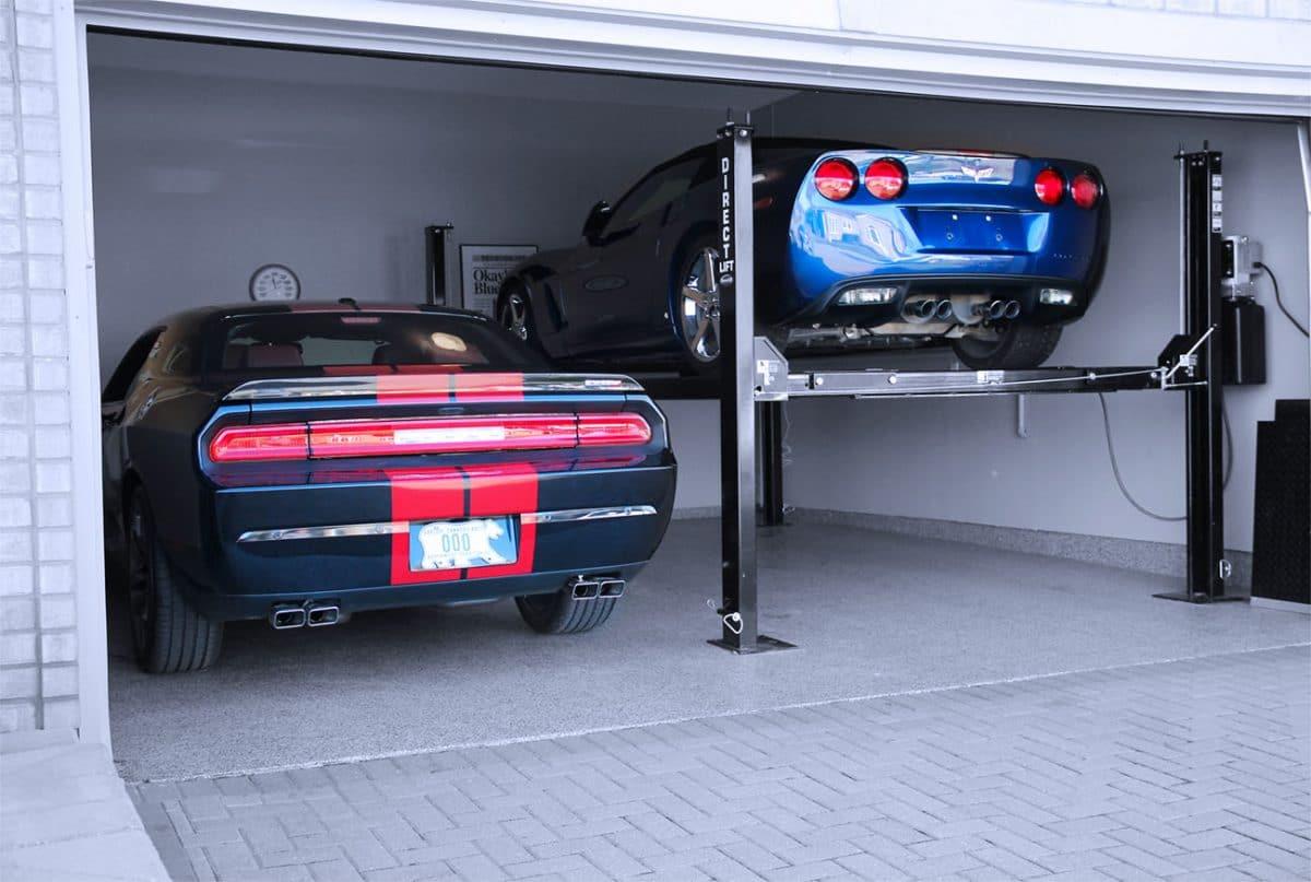 4 post home car lifts
