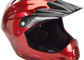 The Razor Full Face Youth Helmet