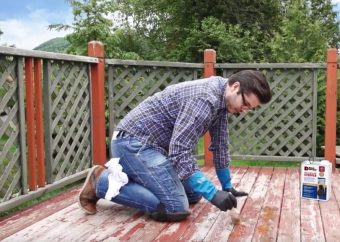 remove paint from wood using a paint remover